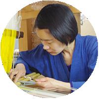 博多織を制作している宮嶋美紀