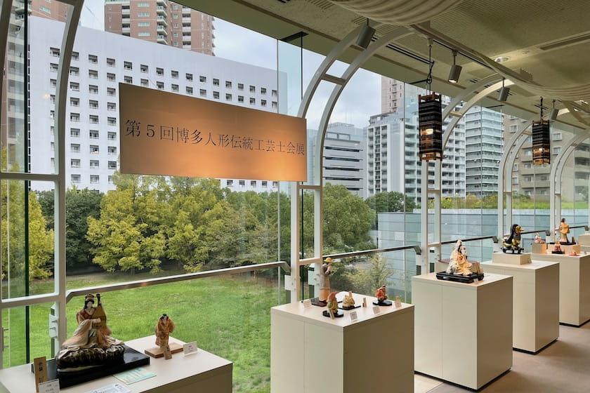 第5回博多人形伝統工芸士会展が、はかた伝統工芸館で開催されます。